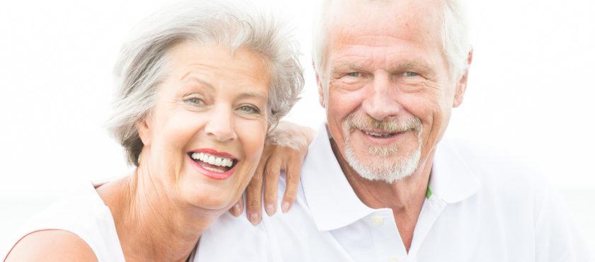Zdrowy senior dba o pamięć